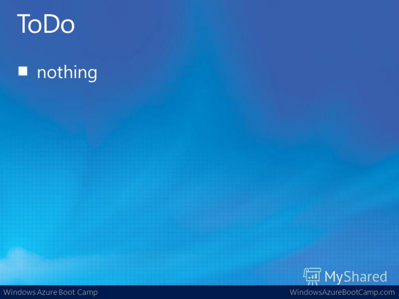Windows Azure Boot CampWindowsAzureBootCamp.com