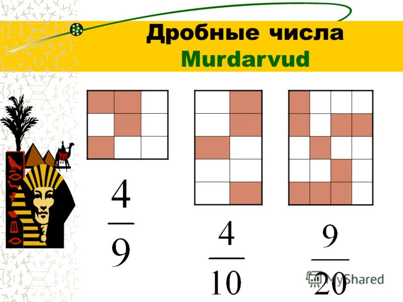 Дробные числа Murdarvud