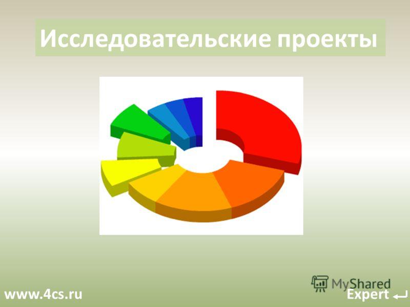 www.4cs.ru Expert Исследовательские проекты