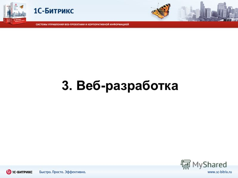3. Веб-разработка