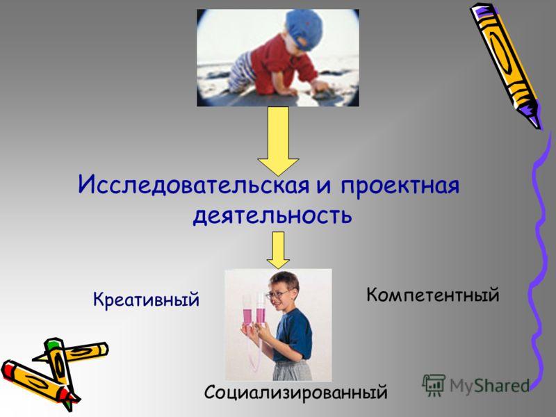 Исследовательская и проектная деятельность Креативный Компетентный Социализированный