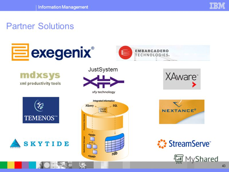 Information Management 43 Partner Solutions JustSystem