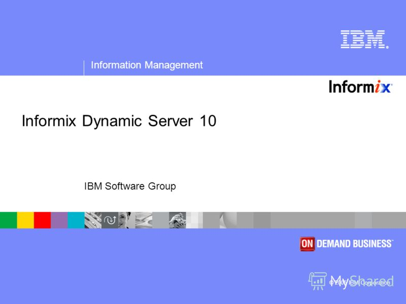 ® Information Management © 2005 IBM Corporation IBM Software Group Informix Dynamic Server 10