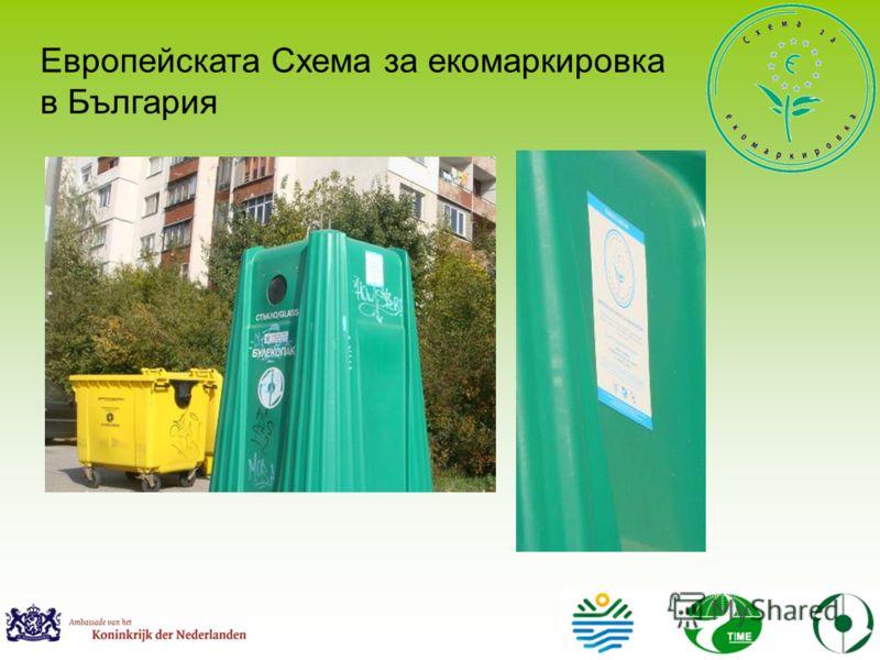 Европейската Схема за екомаркировка в България