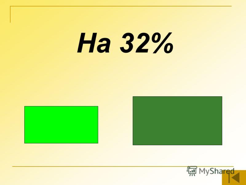 На 32%
