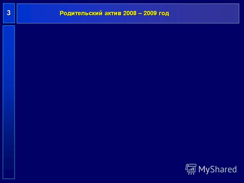 Родительский актив 2008 – 2009 год 3