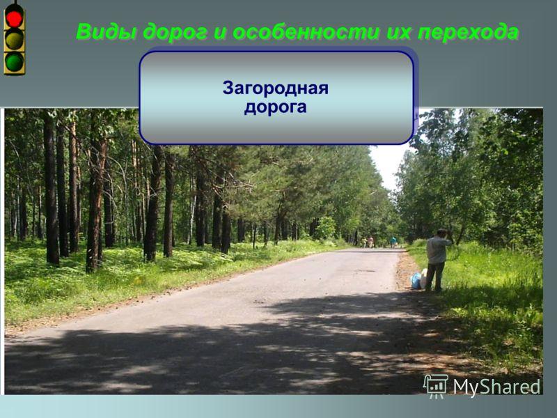 Виды дорог и особенности их перехода городская дорога городская дорога