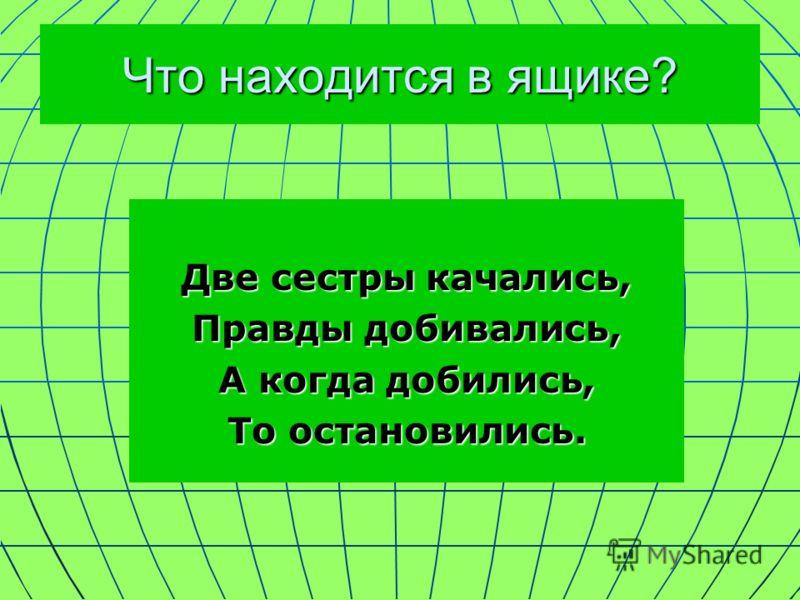 Что находится в ящике? На вид невзрачная: Худа и прозрачная, Ценность её нелегко понять, Если не знать, Как шкалу прочитать.
