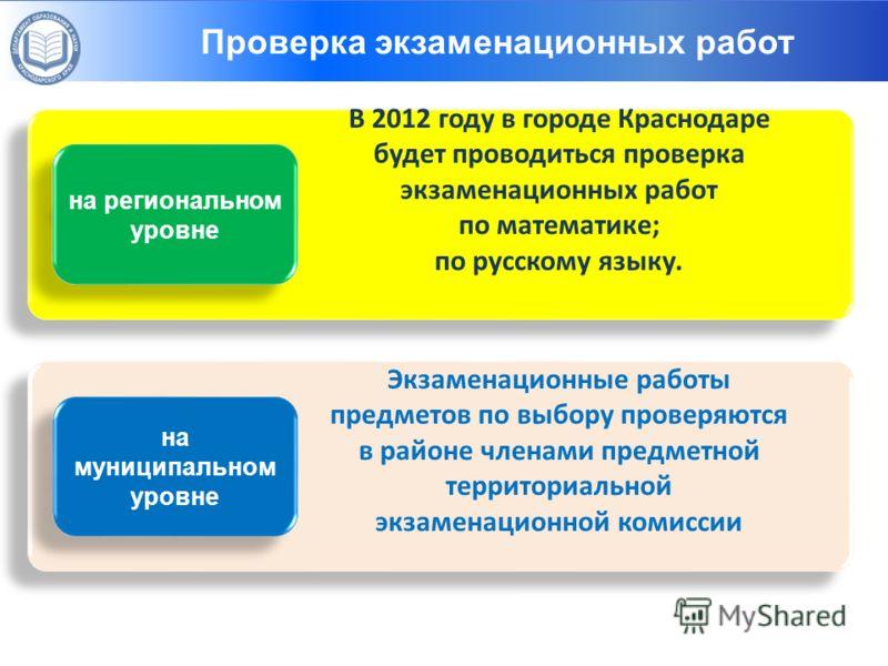 Ресурсы: 1. Материально – технические 3. Информационные 4. Результат как ресурс развития Структуры – организаторы ГИА-9 на региональном уровне В 2012 году в городе Краснодаре будет проводиться проверка экзаменационных работ по математике; по русскому