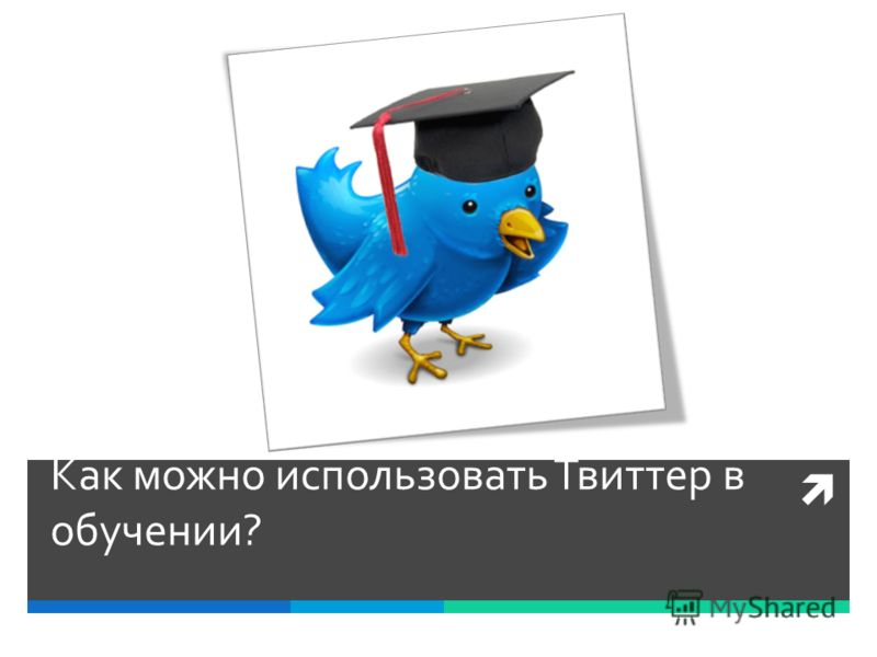 Как можно использовать Твиттер в обучении?