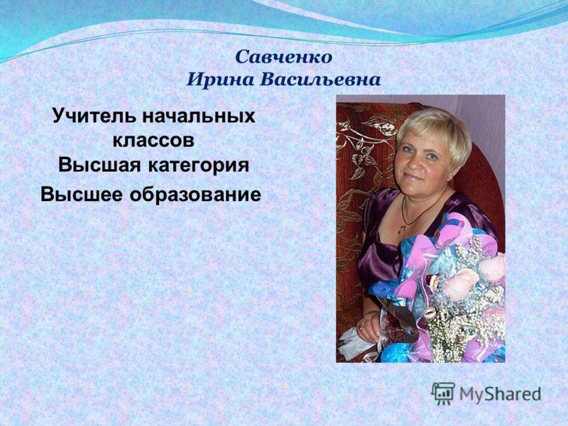 Учитель физики и информатики Образование высшее Дюбанова Ирина Викторовна