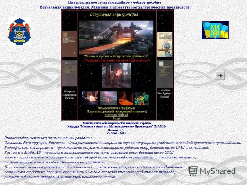 Презентация интерактивного мультимедийного пособия «Визуальная энциклопедия»