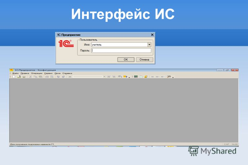 Интерфейс ИС