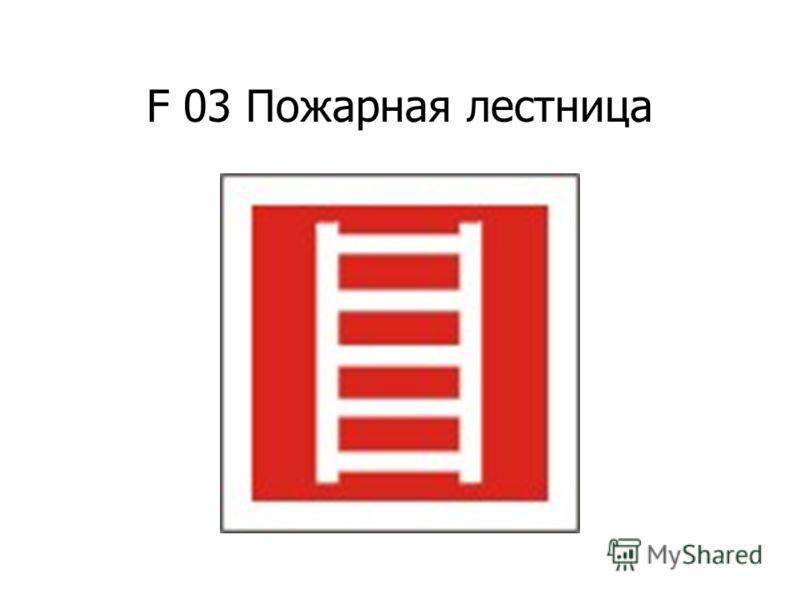 F 02 Пожарный кран
