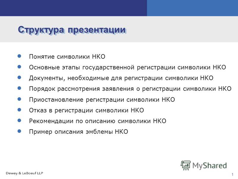 Часть III Регистрация символики НКО Екатерина Беккер Юрист Дьюи энд ЛеБоф, Москва Июль 2010