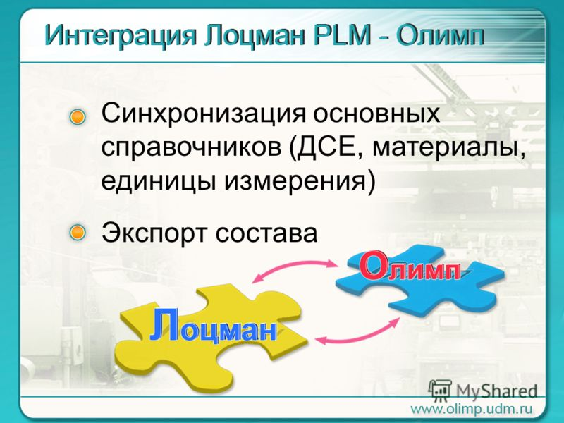 Синхронизация основных cправочников (ДСЕ, материалы, единицы измерения) Экспорт состава