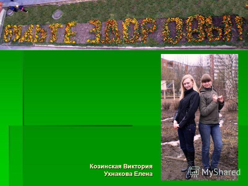 Козинская Виктория Ухнакова Елена