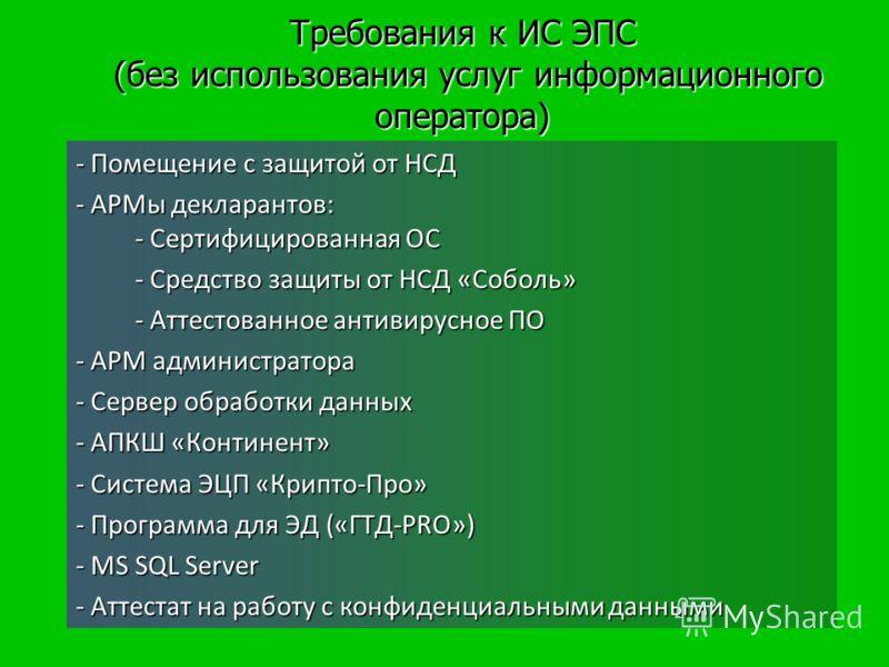 Прямое подключение к АСВД ГНИВЦ ФТС (без использования услуг информационного оператора)