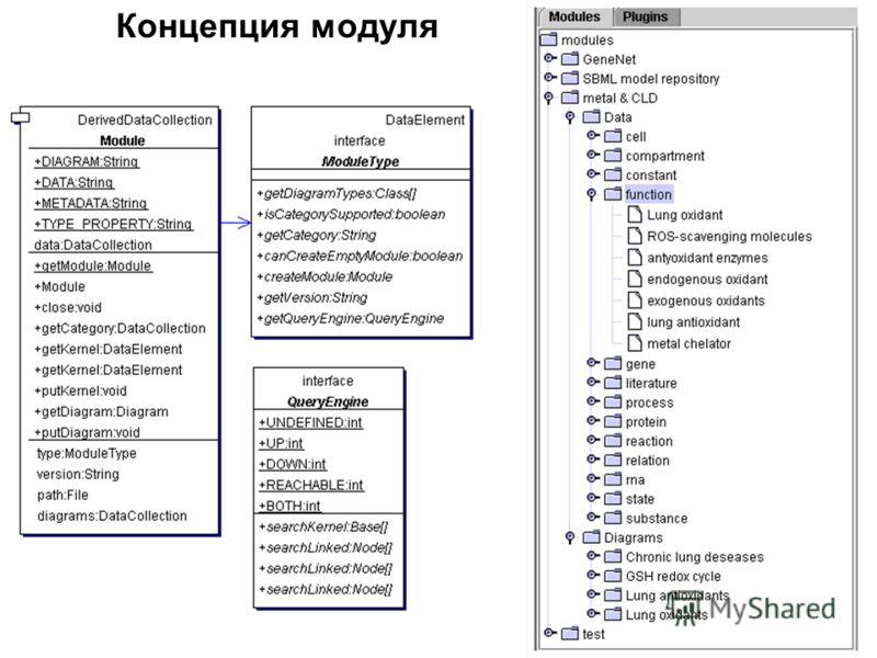 Концепция модуля