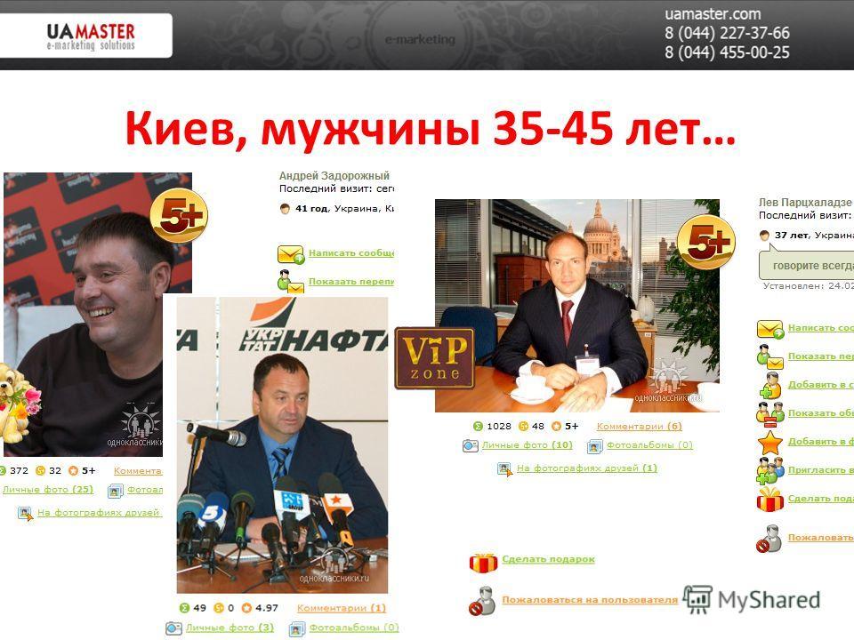 Киев, мужчины 35-45 лет…