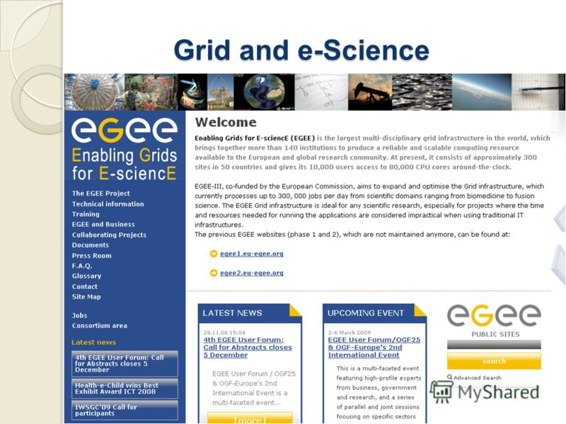 Grid and e-Science