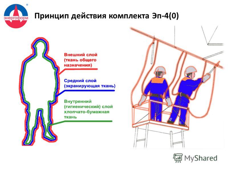 Принцип действия комплекта Эп-4(0)