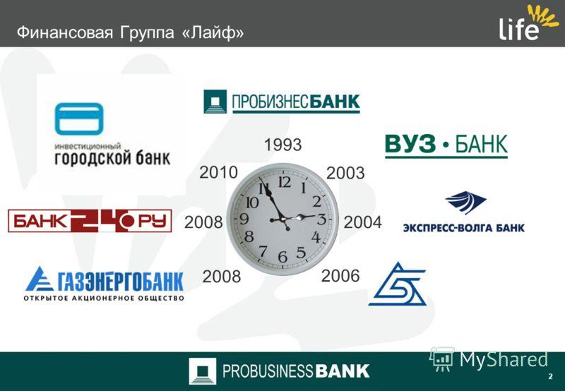 1 1. Финансовая группа «Лайф» 2. Цели и задачи 3. Требования к системе 4. Новые возможности с Interbank RS 5. Планируемые результаты проекта
