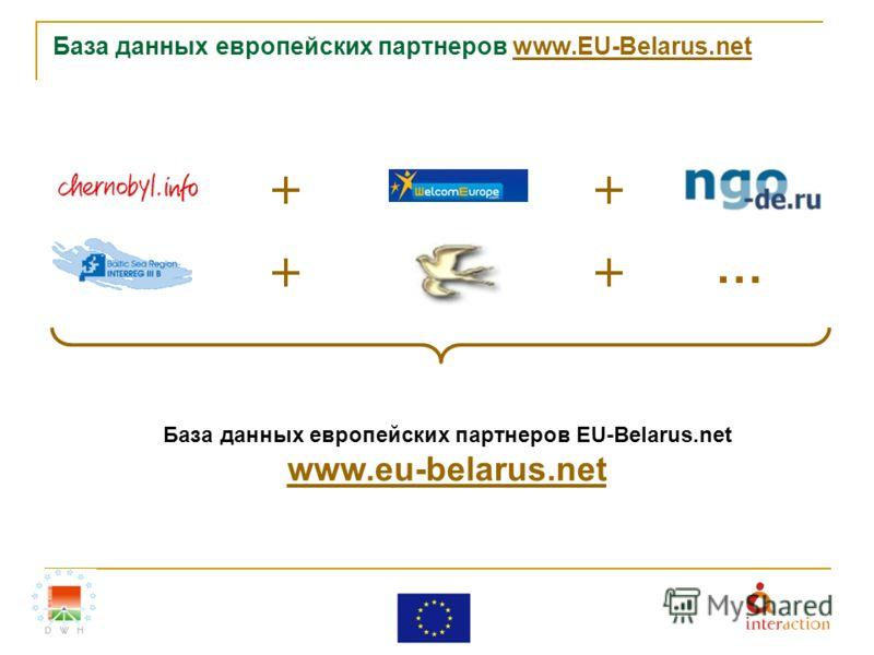База данных европейских партнеров www.EU-Belarus.netwww.EU-Belarus.net … База данных европейских партнеров EU-Belarus.net www.eu-belarus.net