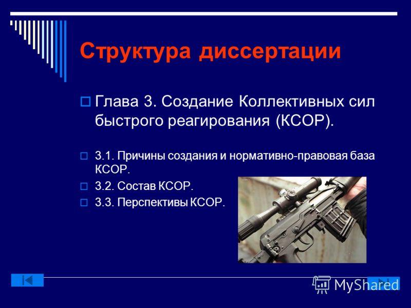 Структура диссертации Глава 2. Взаимодействие ОДКБ с другими международными организациями. 2.1. СНГ 2.2. ЕврАзЭС 2.3. ШОС 2.4. ОБСЕ 2.5. ЕС 2.6. НАТО 2.7. ООН