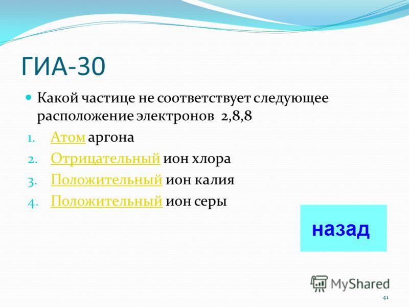 ГИА-20 Атомы химических элементов азота и фосфора имеют одинаковое число 1. Заполненных электронных слоев Заполненных 2. Протонов Протонов 3. Электронов во внешнем электронном слое Электронов 4. нейтронов нейтронов 40