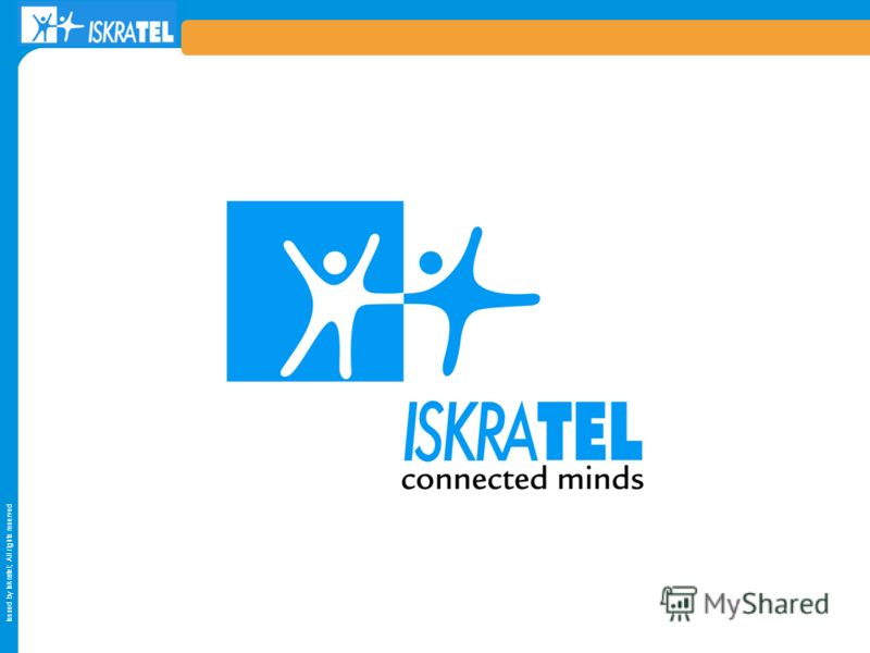 Issued by Iskratel; All rights reserved
