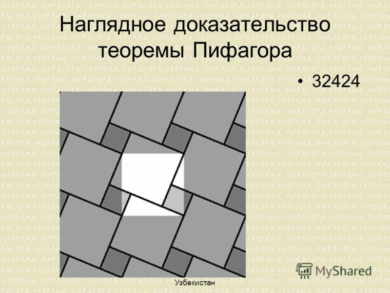 Лилия Николенко. Ташкент. Узбекистан Наглядное доказательство теоремы Пифагора 32424
