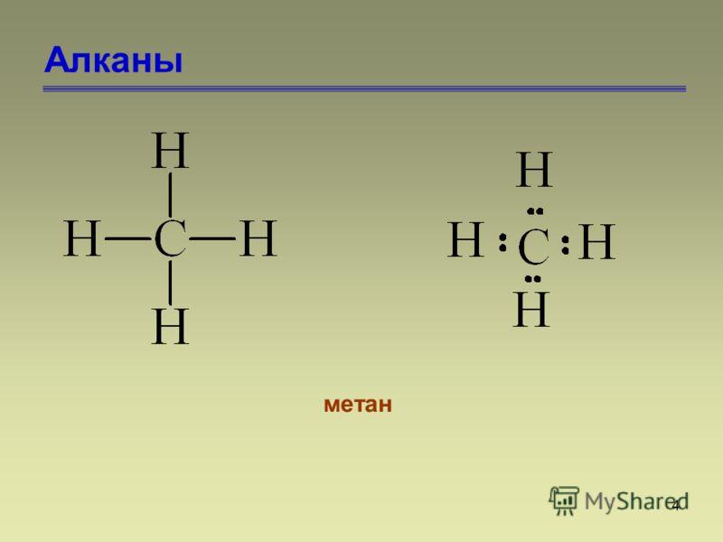 4 Алканы метан