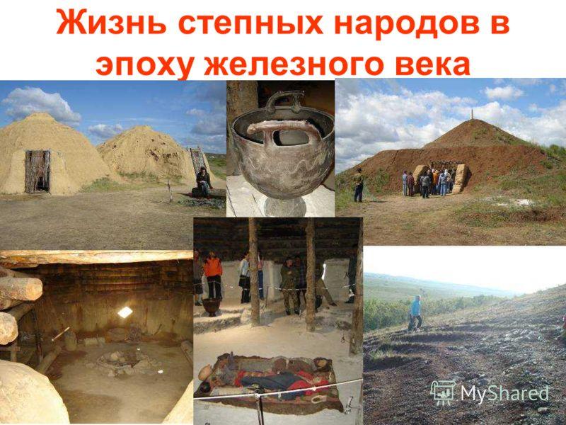 Жизнь степных народов в эпоху железного века