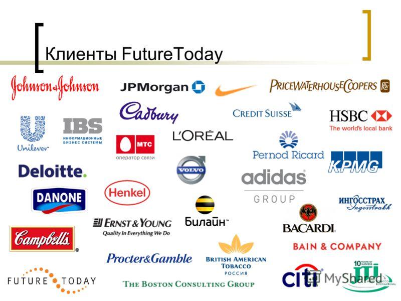 Клиенты FutureToday