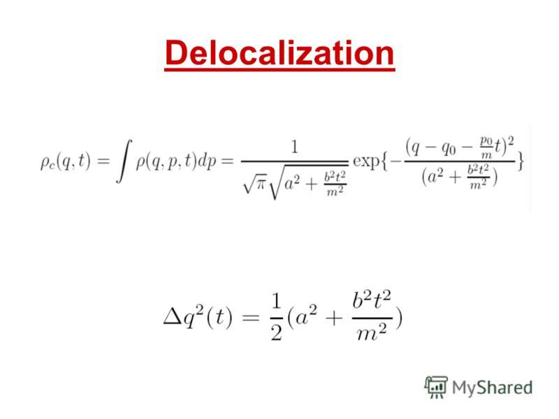 Delocalization