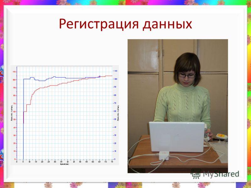 Регистрация данных