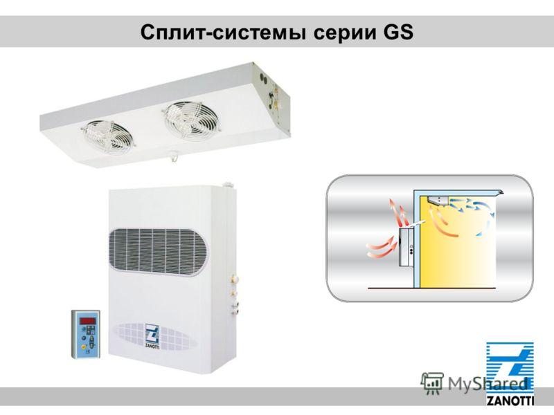 Сплит-системы серии GS