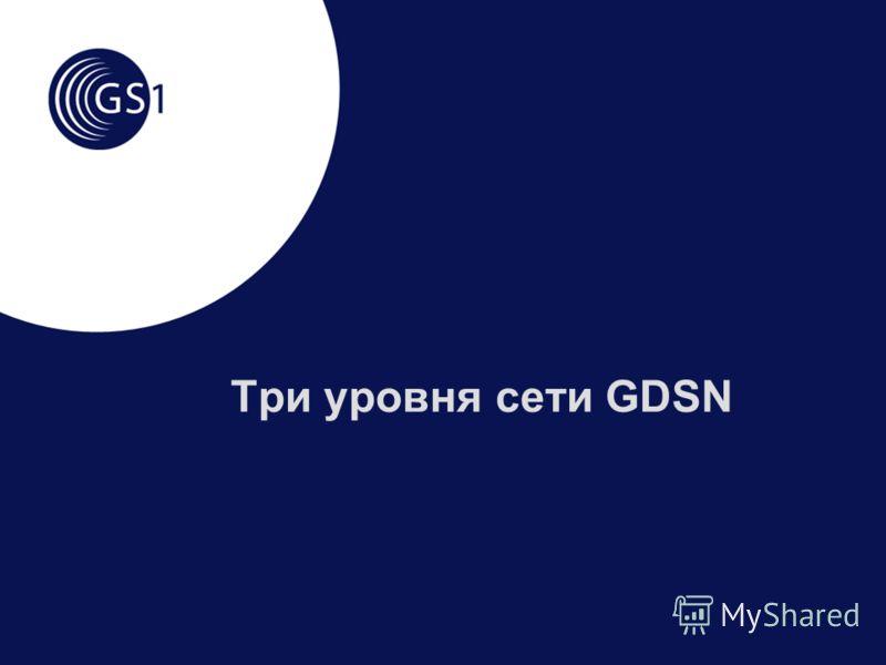 Три уровня сети GDSN