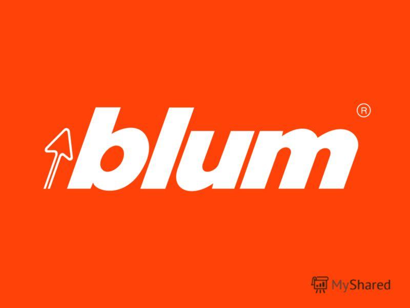 1 © Julius Blum GmbH Blum