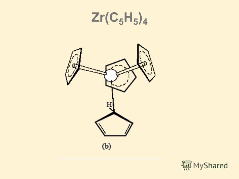 Zr(C 5 H 5 ) 4