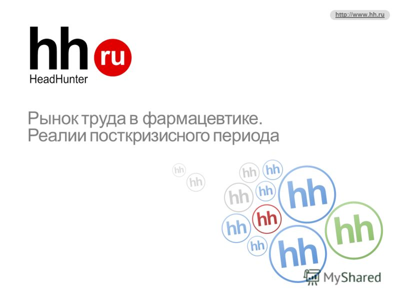 http://www.hh.ru Рынок труда в фармацевтике. Реалии посткризисного периода
