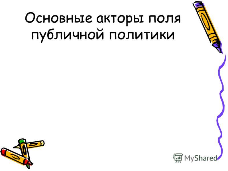 2. ПОНЯТИЕ ИНСТИТУТОВ- ПОСРЕДНИКОВ