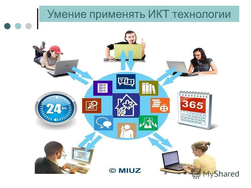 Умение применять ИКТ технологии