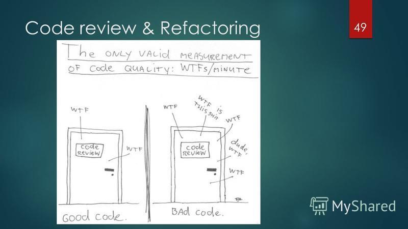 Code review & Refactoring 49