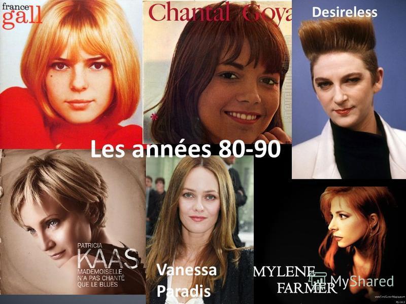 Vanessa Paradis Desireless Les années 80-90