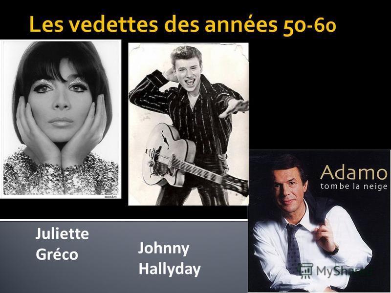 Juliette Gréco Johnny Hallyday