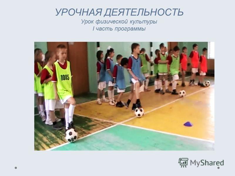 УРОЧНАЯ ДЕЯТЕЛЬНОСТЬ Урок физической культуры I часть программы