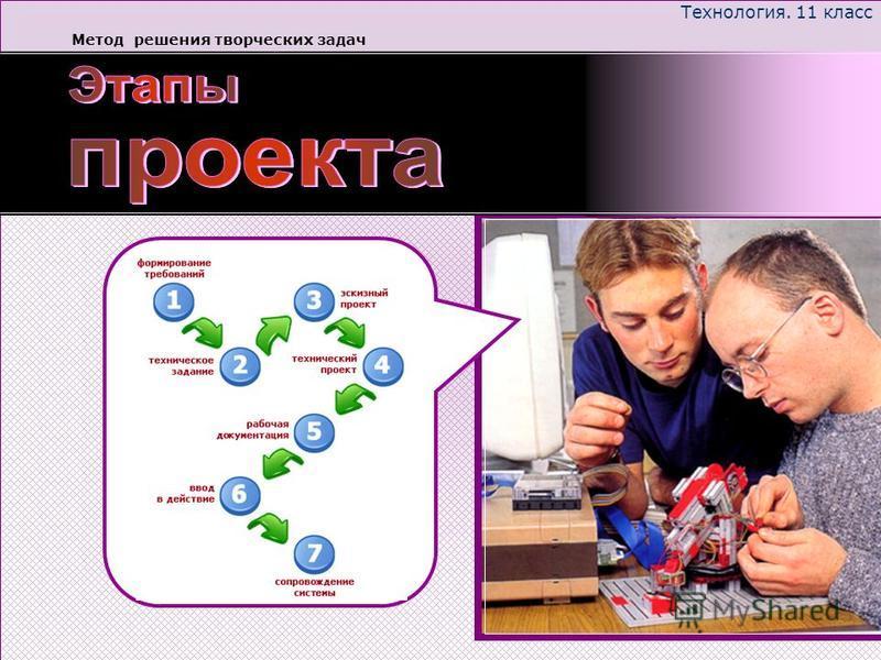 Технология. 11 класс Метод решения творческих задач