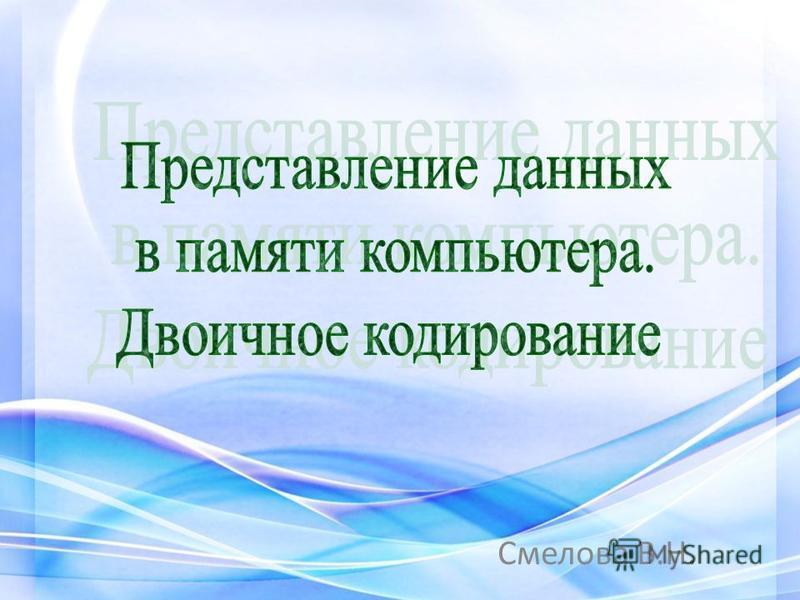 Смелова В.Н.